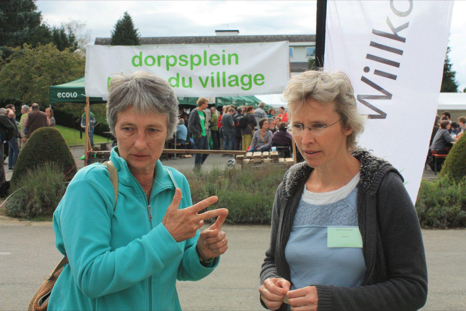 Dominique Pasture et Cécile Verheugen