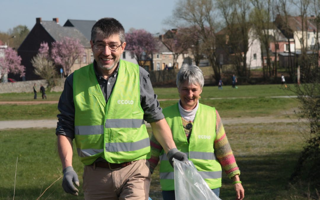 #ACTION – Ramassage de Printemps Wallonie Plus Propre
