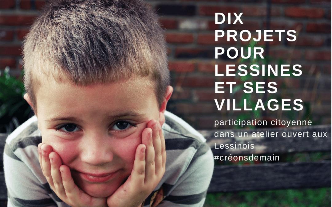 Ecolo Lessines invite les citoyens à exprimer leurs idées pour faire revivre Lessines et ses villages. Samedi 19 août à 16h au Moulin d'Ogy